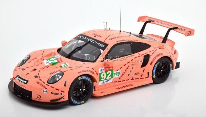 Porsche 991RSR #92 Class Winner 24H LeMans 2018