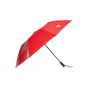 Scuderia Ferrari Compact Umbrella With Logo Red