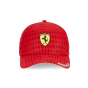 Scuderia Ferrari Men Monaco Cap Red