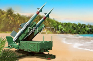 Soviet 5P71 Launcher with 5V27