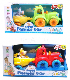 Braet Tractor Musical ToySet