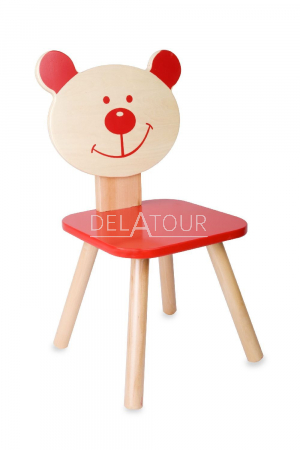 Classic World Wooden Red Beer Chair