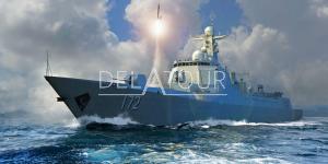 Pla Navy Type 052D Destroyer