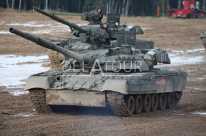 Russian T-80UE-1 MBT
