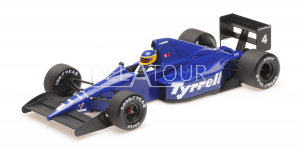Tyrell 018 #4 M. Alboreto Mexican GP 1989