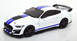 Ford Mustang Shelby GT500 Coupe 2020 White/Blue