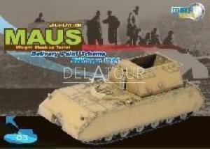 Maus Super-Heavy Tank Turret Boblingen 1944