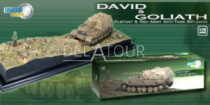 David& Goliath Elefant & Red Army Anti-Tank