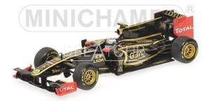 Lotus Renault #10 V. Petrov Showcar 2011