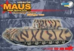Maus Super-Heavy Tank Camouflage Boblingen 1944