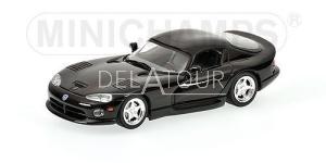 Dodge Viper Coupe 1993 Black