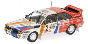 Audi Quattro #2 Winner Hunsruck Rally 1984