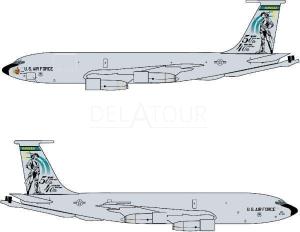 USAF KC-135D 117Th Kansas ANG 40th Anniversary