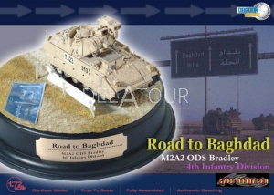 M2A2 ODS Bradley 4th Infantery Division Baghbad