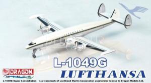 Lufthansa L-1049G Super Constellation Tin Box
