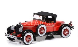 Stutz Black Hawk Speedster Closed 1928 Red/Black