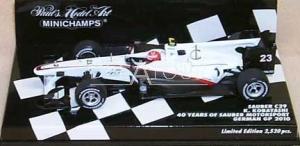 Sauber C29 #23 K. Kobayashi German GP 2010