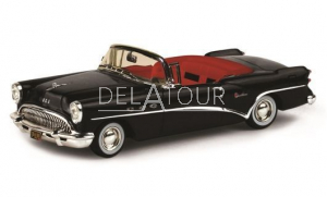 Buick Century 2 Door Convertible 1954 Black