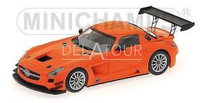 Mercedes-Benz SLS AMG GT3 2011 Street Orange