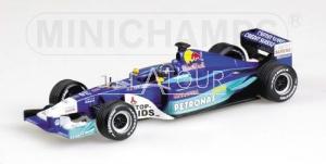 Sauber C21 #8 H.H. Frentzen GP USA 2002