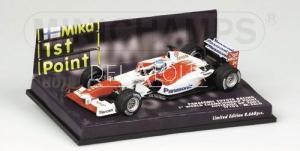 Toyota TF102 #24 M. Salo Australian GP 2002