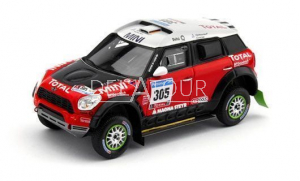Mini Cooper #305 Dakar Rally 2011