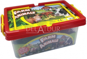 Braet 35pcs Farm Animals and Playmat Packe