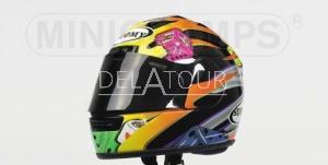 J. vd Goorbergh Helmet MotoGP 2001