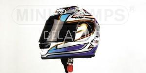 N. Hodgson Helmet MotoGP 2001