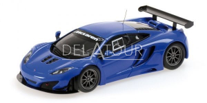 McLaren MP4-12C GT3 2012 Blue