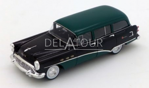Buick Century Estate Wagon 1954 Black & Green