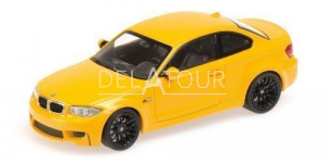 BMW 1er Coupe 2011 Yellow