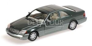 Mercedes Benz 600 SEC Coupe C140 1992 Green