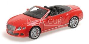 Bentley Continental GT Speed Convertible 2013 Red