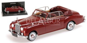 Rolls Royce Silver Cloud II Cabriolet 1960 Red