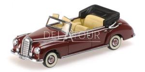 Mercedes-Benz 300 Cabriolet W186 1952 Red