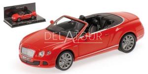 Bentley Continental GT Speed Cabrio 2012 Red