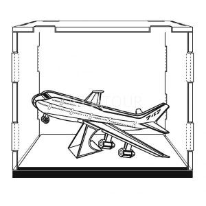 Display Case 10*12.7*10cm