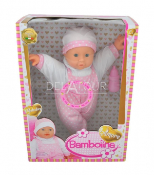 Dimian Doll Amore 40cm with Baby Sounds