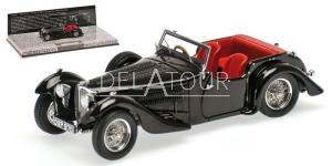 Bugatti Type 57C Corsica 1938 Black