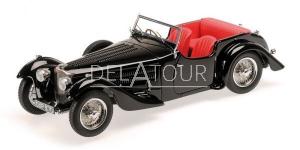 Bugatti Type 57C Corsica Roadst 1938 Black