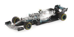 Mercedes W10 #77 V. Bottas 2e Chinese GP 2019