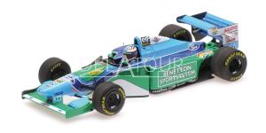 Benetton B194 #6 J.J. Letho Monaco GP 1994