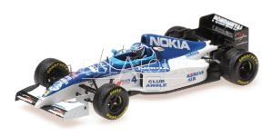 Tyrell 023 #4 M. Salo Belgium GP 1995