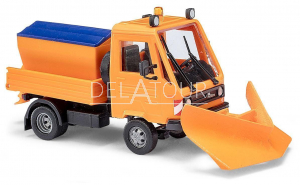 MultiCar with Snow Plough and Salt Spreader