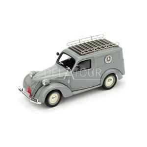Fiat 1100 Van Poste Italiane Servizio 1950 Grey