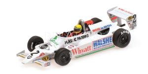 Ralt Toyota RT3 A. Senna F3 Test Silverstone 1982
