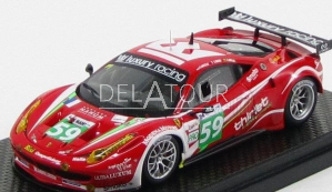 Ferrari 458 Italia #59 24H LeMans 2011