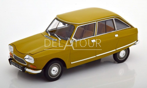 Citroen Ami 8 Club 1969 Yellow Gold
