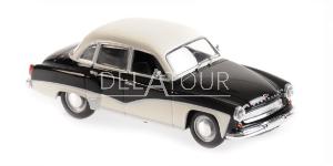 Wartburg A311 Coupe 1958 Black & White